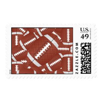 football pile stamp