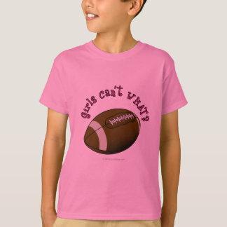 Football - Pink Text T-Shirt