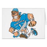 Football Pirate Greeting Cards