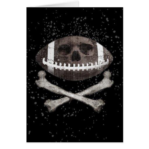 Football Pirate II Greeting Card