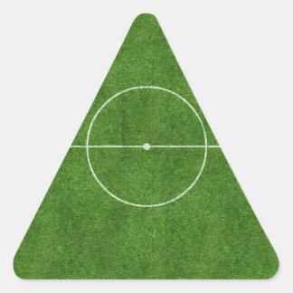 football pitch soccer footy grass design triangle sticker