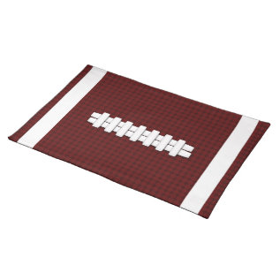 Football Placemat at Zazzle