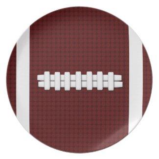 Football Plate plate