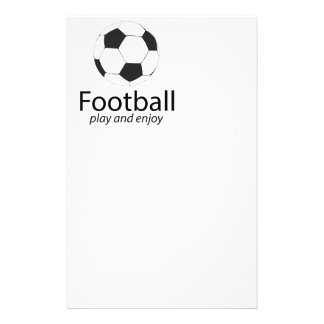 Football: play and enjoy flyer