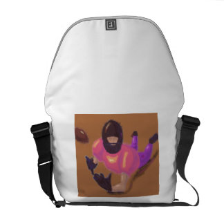 Football Play Art Courier Bag
