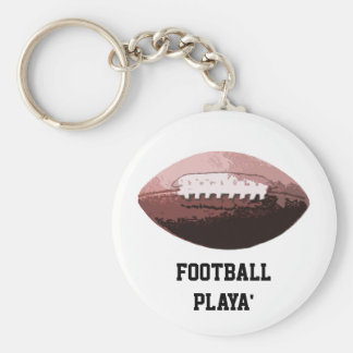 Football Playa' Keychain