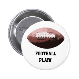Football Playa' Pinback Button