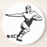 Football Player Beverage Coaster