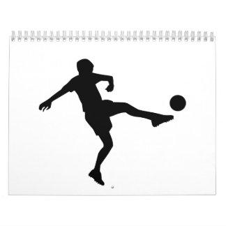 Football Player Calendar