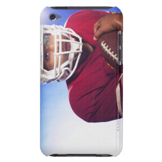 Football player carrying ball barely there iPod covers