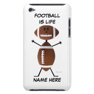 Football Player Cartoon Case-Mate iPod Touch Case