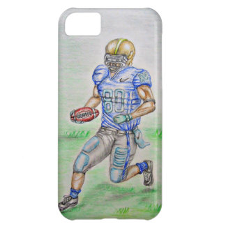 Football player cover for iPhone 5C