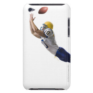 football player catching a pass iPod touch case