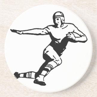 Football Player Beverage Coaster