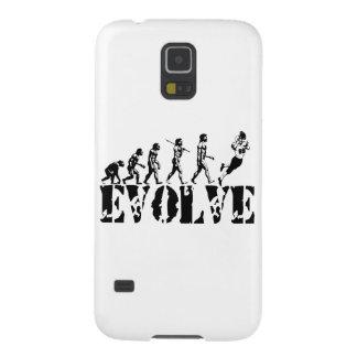 Football Player Evolution Fun Sports Art Galaxy S5 Covers
