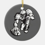 football player fever ornaments