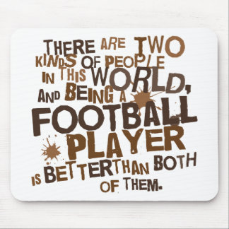 Football Player Gift Mouse Pad