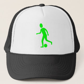 Football Player - Green Trucker Hat