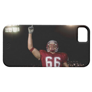 Football player holding up index finger iPhone SE/5/5s case