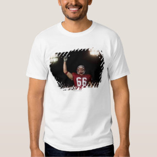 Football player holding up index finger T-Shirt