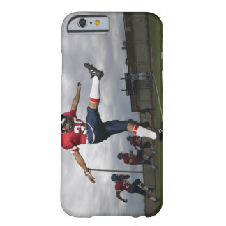 Football Player Kicking Football 2 Barely There iPhone 6 Case