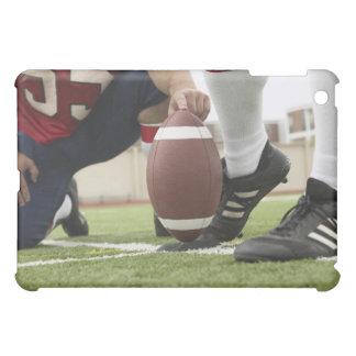 Football Player Kicking Football iPad Mini Case