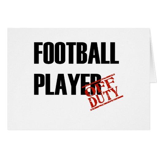 FOOTBALL PLAYER LIGHT CARD