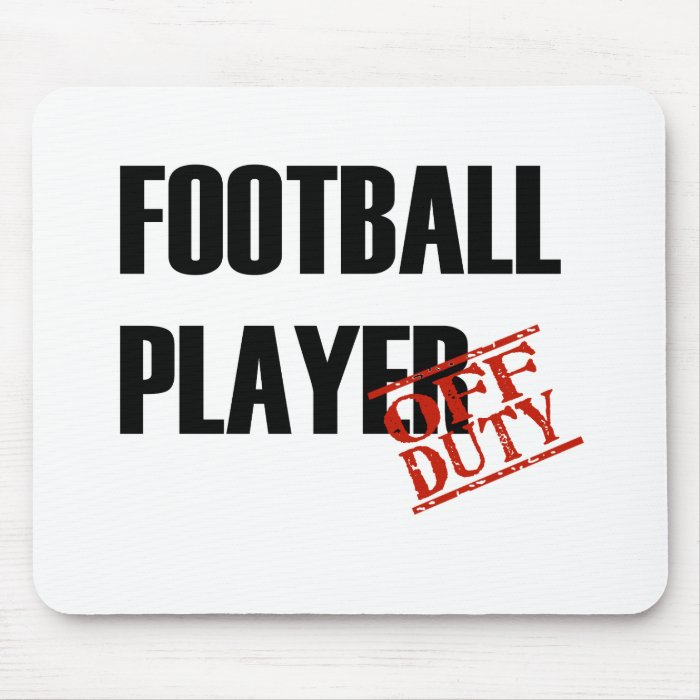 FOOTBALL PLAYER LIGHT MOUSE PAD