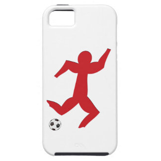 Football player more soccer more player iPhone SE/5/5s case
