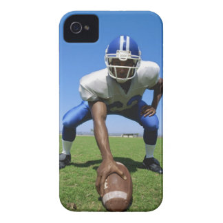 football player playing on a football field Case-Mate iPhone 4 case