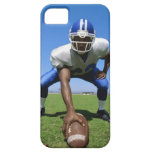 football player playing on a football field iPhone SE/5/5s case