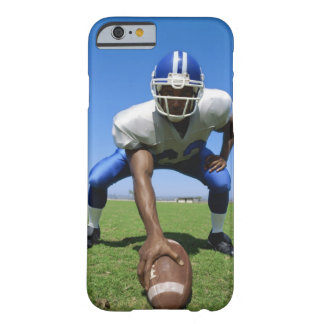 football player playing on a football field iPhone 6 case