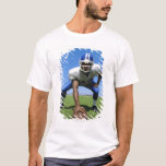 football player playing on a football field T-Shirt