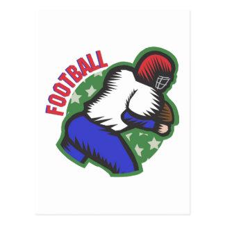 Football Player Postcard