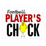 Football Player's Chick Post Card