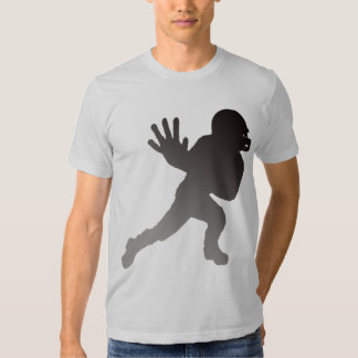 FOOTBALL PLAYER SILHOUETTE T-SHIRTS