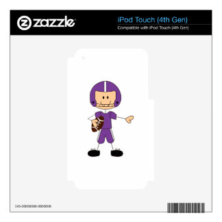 FOOTBALL PLAYER iPod TOUCH 4G SKIN
