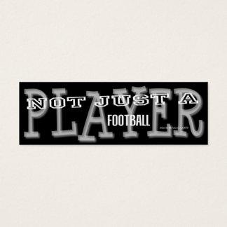 Football Player - Social Media Personal Card