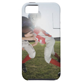 Football player tackling opponent iPhone 5 cover