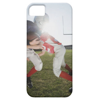 Football player tackling opponent iPhone 5 cases