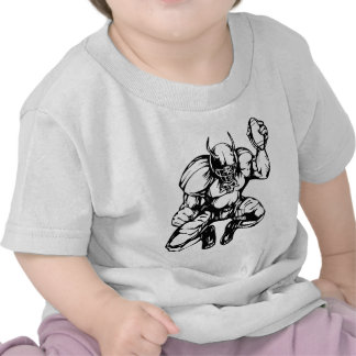 Football Player With Horns T-shirts