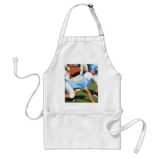 Football players adult apron