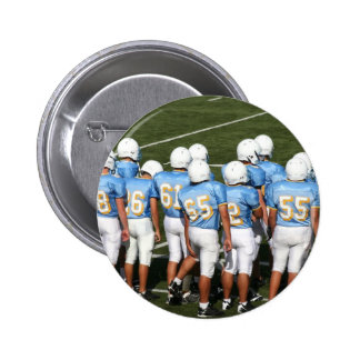 Football players button