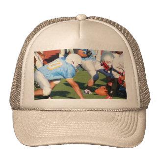 Football players cap trucker hat