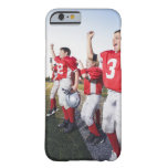 Football players cheering on sideline iPhone 6 case