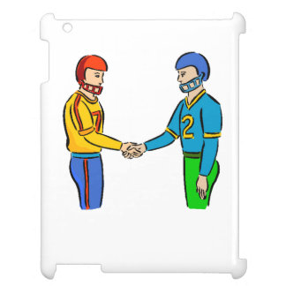 Football Players Handshake Case For The iPad