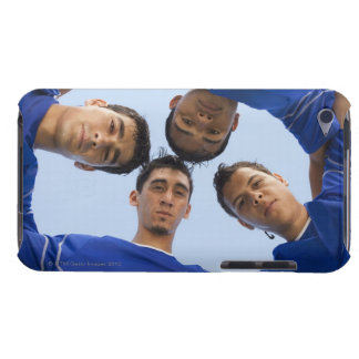 Football players huddled together barely there iPod covers