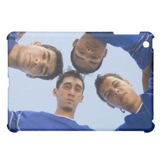 Football players huddled together iPad mini covers