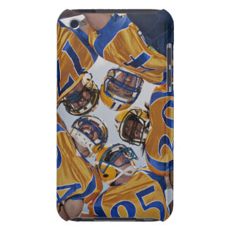 Football players in huddle iPod Case-Mate cases
