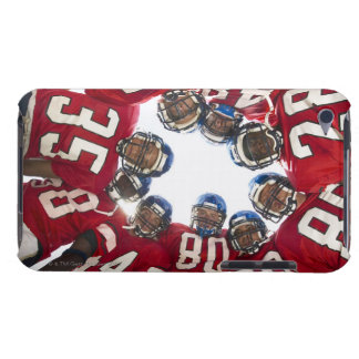Football Players in Huddle Case-Mate iPod Touch Case